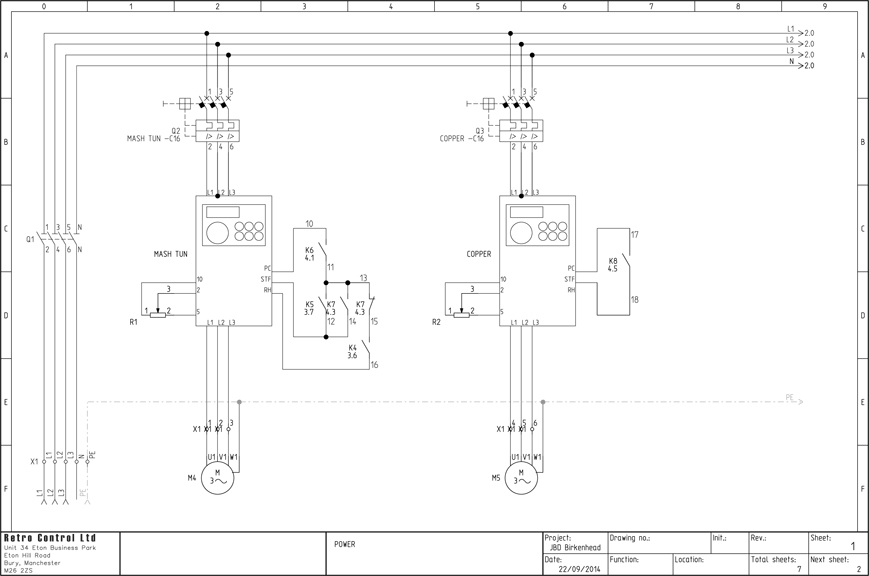 Retro Control Ltd - Electrical Drawings